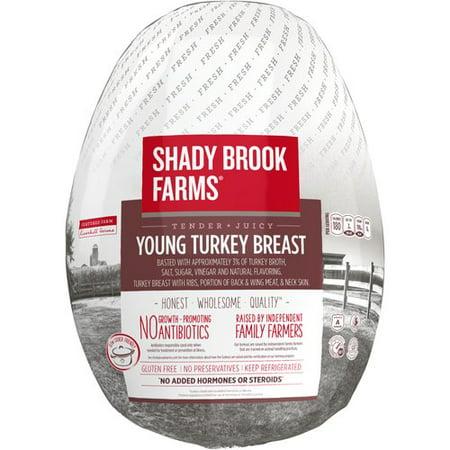 Shadybrook farms fresh bone in turkey breast 3 basted 4 8 for Shady brook farms