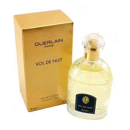 Vol De Nuit Eau De Toilette Spray 3.3 Oz / 100 Ml for Women by Guerlain