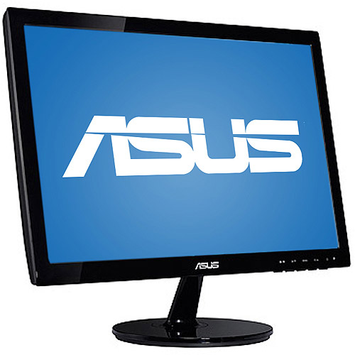 "ASUS 19"" Widescreen LED Monitor (VS197D-P Black)"