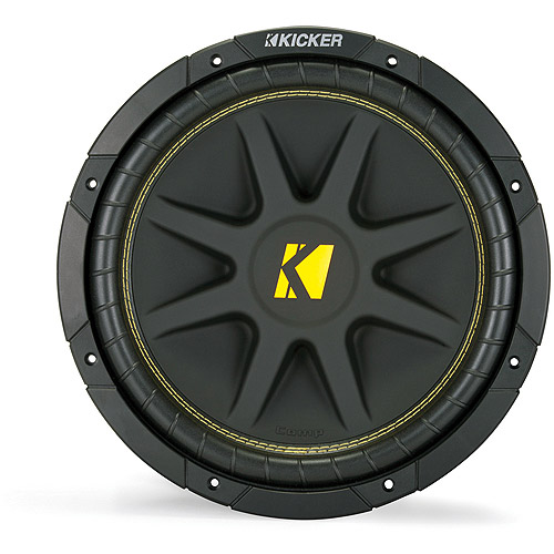 "Kicker C124 12"" (300MM) 4-Ohm Subwoofer (One Subwoofer)"