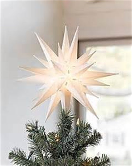 21  Classic White Moravian Star - Perfect Illuminated Hanging Star Light for Indoor Outdoor Christmas Decorations and Christmas Porch Light - Walmart.com  sc 1 st  Walmart & 21