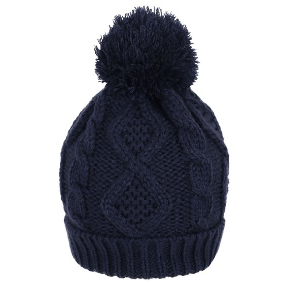 34e9902f24b Simplicity - ANDORRA - 3 in 1 - Soft Warm Thick Cable Knitted Hat ...