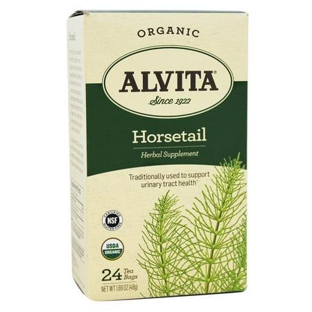 Alvita supplément à base de plantes bio Sachets de thé, Prêle - 24 Sacs