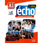 Echo Methode de Francais A1 Student Book & Portfolio & DVD [With DVD ROM] (French) by