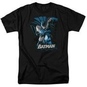 Jla - Batman Blue & Gray - Short Sleeve Shirt - XXX-Large