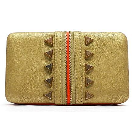Clutch Opera Wallet - 2Chique Boutique Women's Zipper Style Opera Clutch Wallet
