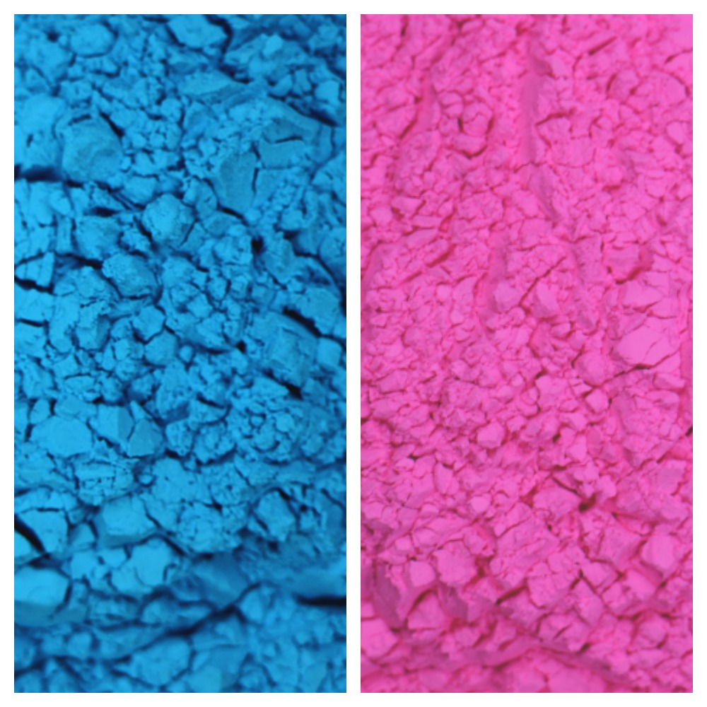 Gender Reveal Color Powder Packet Combo 5 Pink Blue Packets