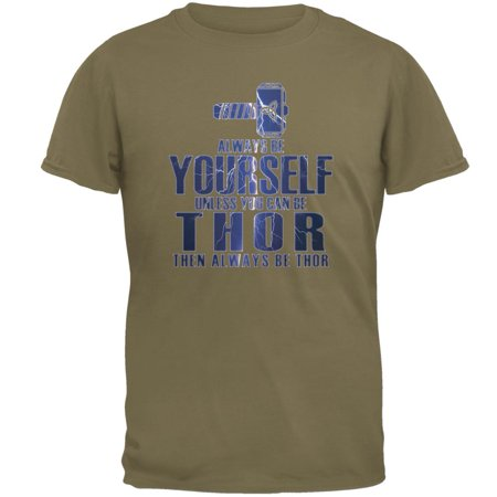 Always Be Yourself Thor Mens T Shirt