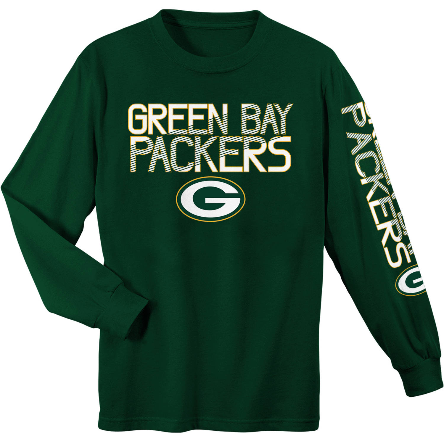 NFL Green Bay Packers Youth Long Sleeve Cotton Tee