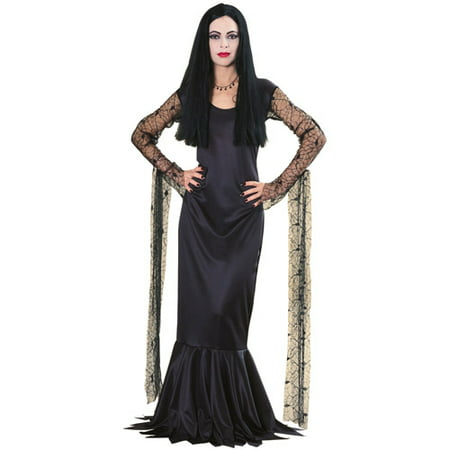 Monsters Inc Family Halloween Costumes (Morticia Adult Costume - Plus)