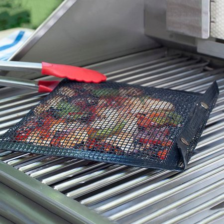 DZT1968 New Hot Non-Stick Mesh Grilling Bag Non-Stick BBQ Bake Bag Outdoor Picnic - Jaguar Mesh Grill