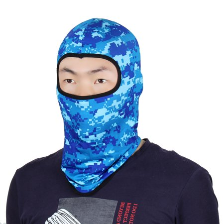 Full Face Protector - Full Face Mask Outdoor Activities Neck Protector Hat Helmet Balaclava Camouflage