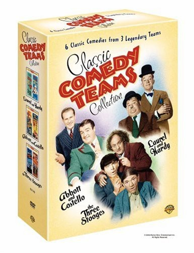 Classic Comedy Teams Collection ( (DVD)) by WARNER HOME ENTERTAINMENT