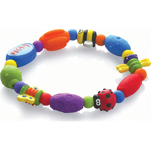 Nuby Bug-a-Loop Teether, BPA-Free