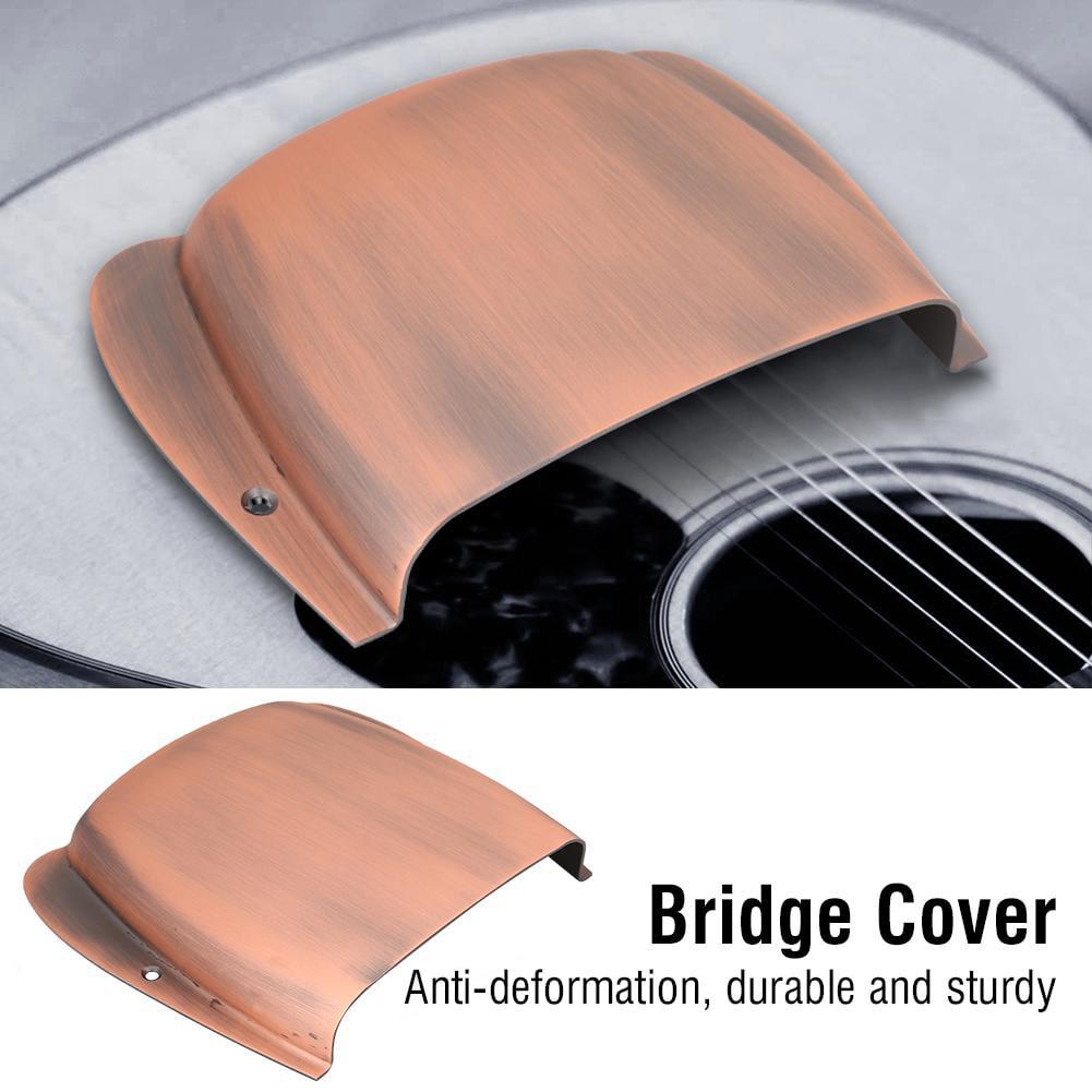 Yosoo 134 * 126 * 27mm Durable Alloy Bridge Cover Protector Replacement Parts for JB Bass Guitar , Bridge Cover, Bass Bridge Cover