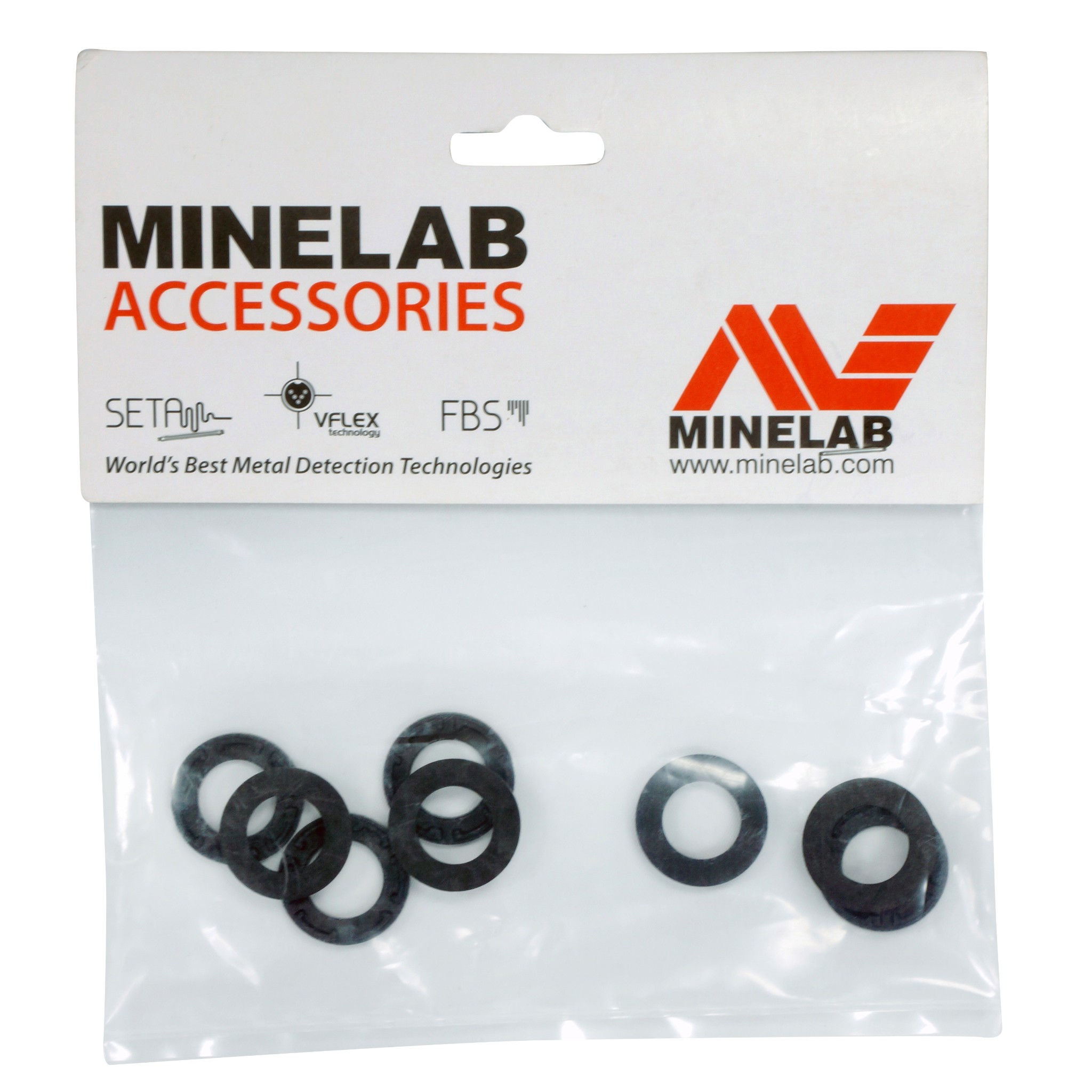 Minelab Replacement Rubber Washer Kit for the GPZ Metal Detector 3011-0285