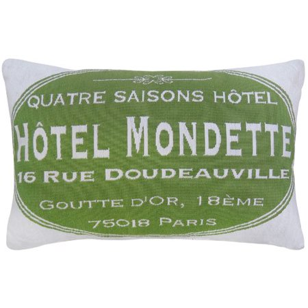 Park B Smith Ltd Hotel Mondette Tapestry Decorative Lumbar Pillow