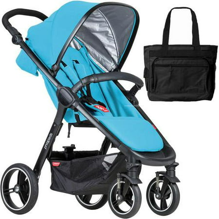 Teds Graffiti Sport Buggy (Phil & Teds  Smart Buggy Baby Stroller With Diaper Bag -)