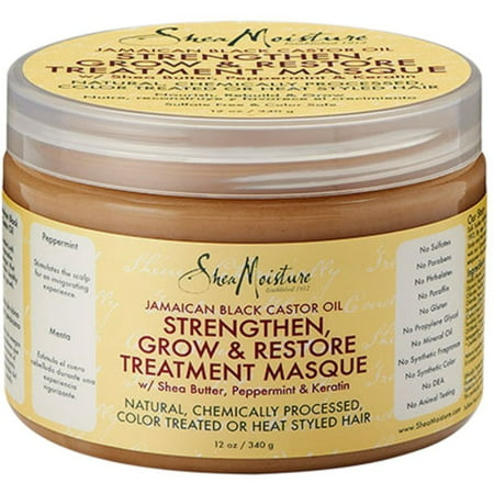 Shea Moisture Strengthen, Grow & Restore Treatment Masque 12 oz