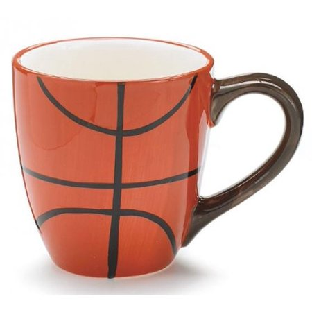 - 1 X Basketball Coffee Mug/Cup For Sports Fans Great Gift