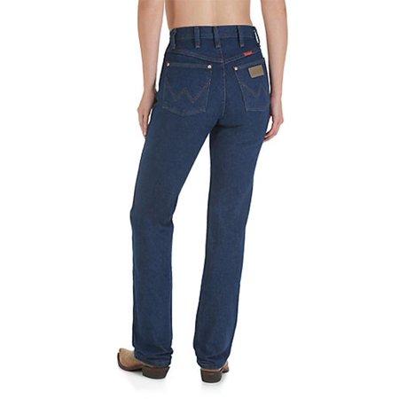 e9536246 WRANGLER - Wrangler Womens Pre Washed Cotton Denim Slim Fit Jeans -  Walmart.com