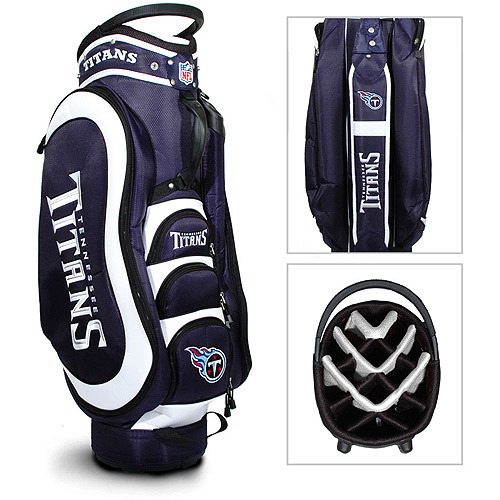 Team Golf NFL Tennessee Titans Medalist Golf Cart Bag