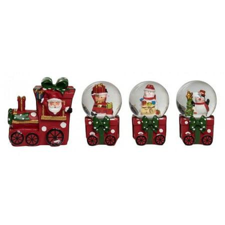 CHRISTMAS SNOW GLOBE TRAIN SET - CHRISTMAS SNOW GLOBE TRAIN SET - Walmart.com