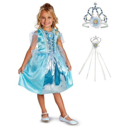 Girls Cinderella Princess Makeover Kit for Birthday Parties