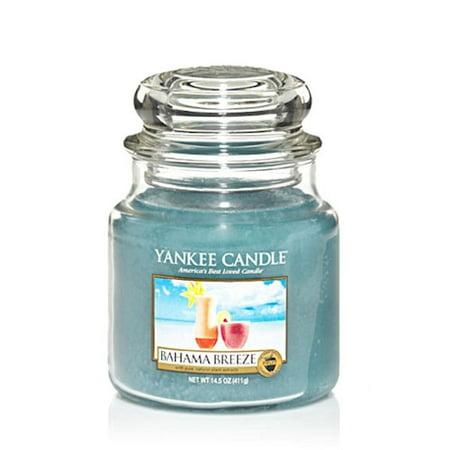 Yankee Candle Bahama Breeze Medium Jar 14.5 oz Candle #1205303
