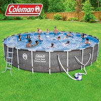 Coleman Swimming Pools Walmart Com