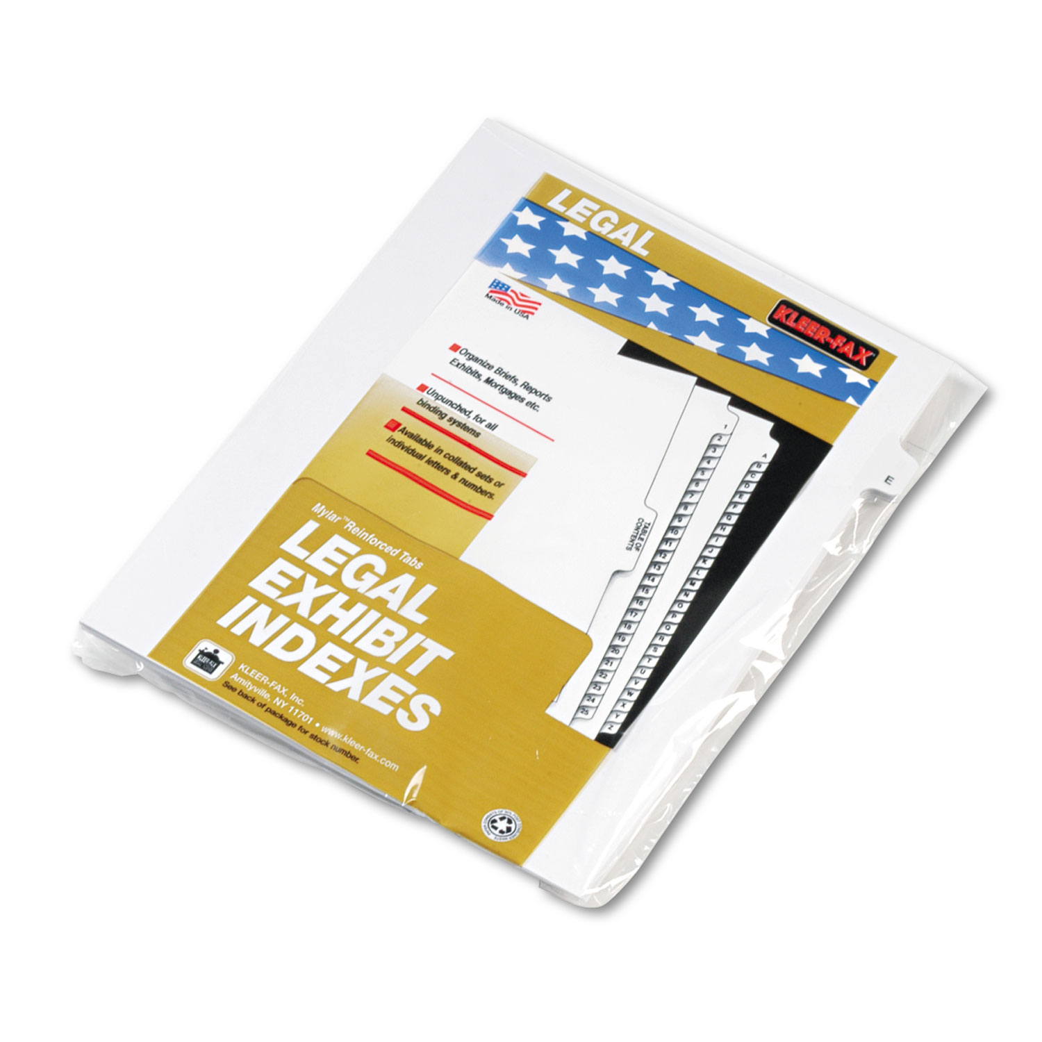 """80000 Series Legal Exhibit Index Dividers, Side Tab, """"E"""", White, 25/Pack"""