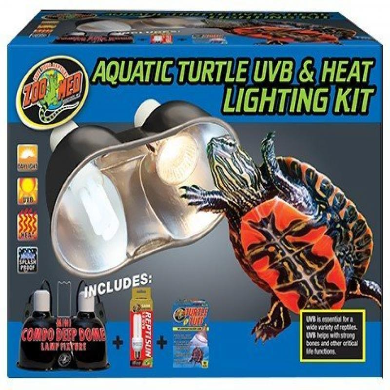 ZooMed Aquatic Turtle Uvb & Heat Lighting Kit
