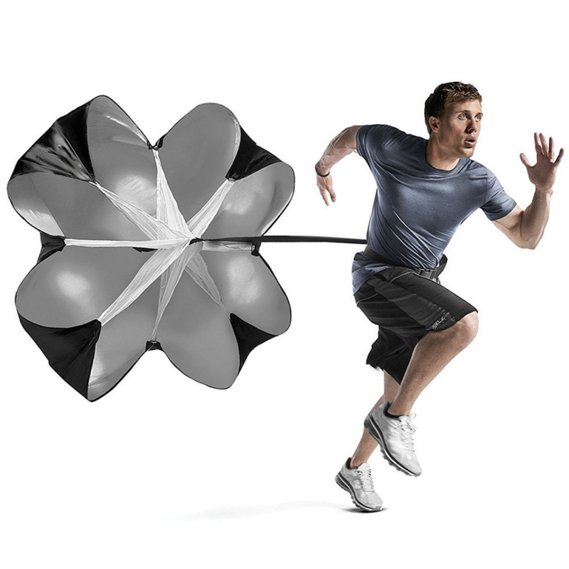BALIGHT Speed Training Drag Umbrella Running Exercise Training Running Resistance Parachute Tools