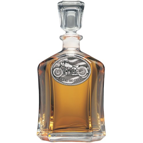 Motorcycle Capitol Decanter