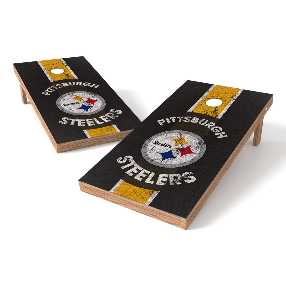 TTXL Shield NFL Heritage Pittsburgh Steelers Bean Bag Toss Game