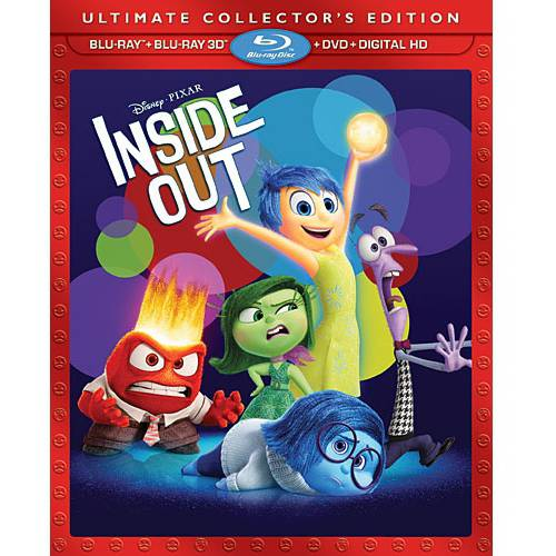 Inside Out (3D Blu-ray + Blu-ray + DVD + Digital HD)