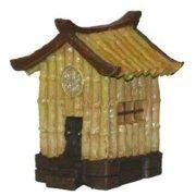 Top Dawg 33429 Resin Ornament- Aqua Kritters Ii Bamboo Hut- Pack of 3