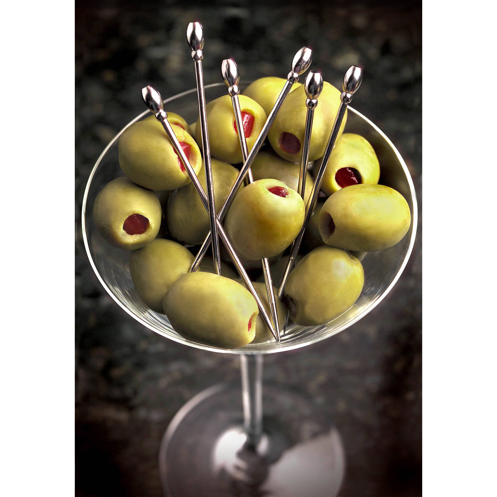 Prodyne Set of 6 Stainless Steel Martini Picks