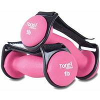 Tone Fitness 2 lb Walking Dumbbells