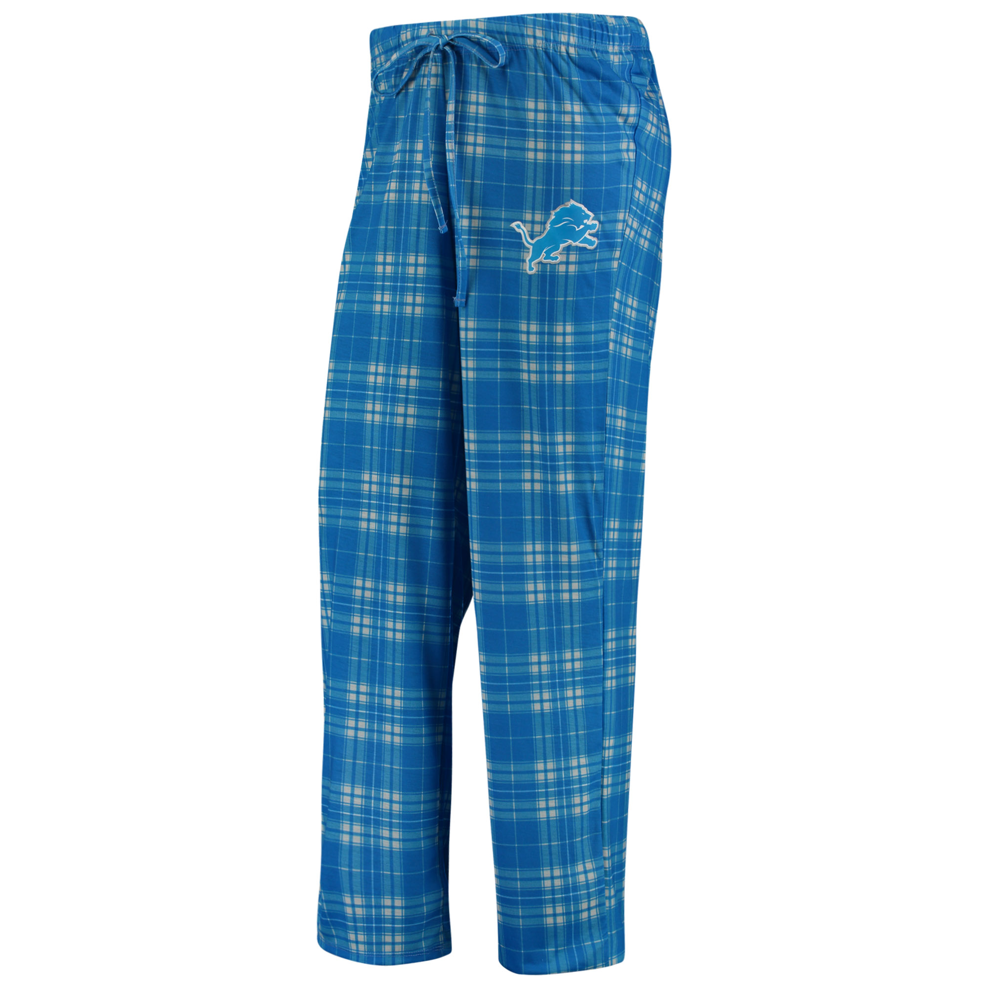 Detroit Lions Concepts Sport Women's Plus Size Rush Knit Pajama Pants - Blue/White