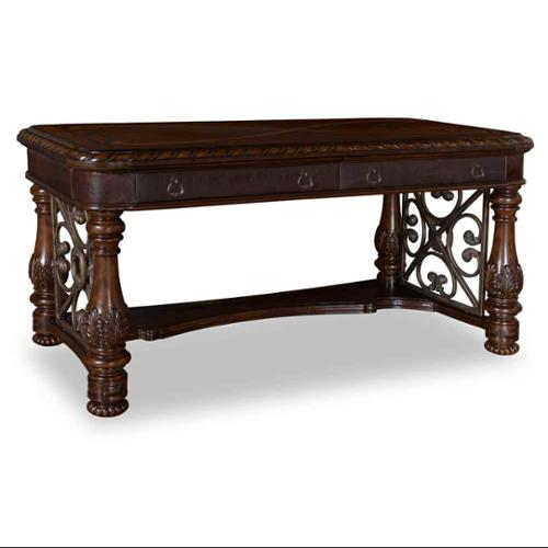 2-Drawer Traditional Writing Desk