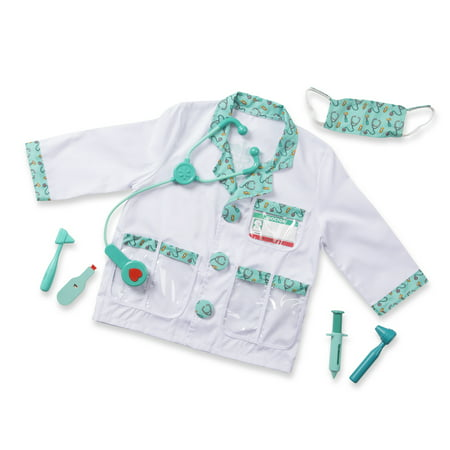 Melissa & Doug® Doctor Role Play Costume Set, Ages 3-6