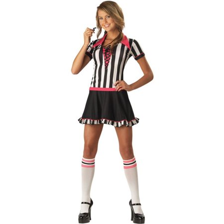 Morris Costumes Racy Referee Teen 5-7 Halloween Costume](Racy Halloween Jokes)