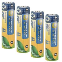 Sony DSC-P73 Digital Camera Battery Replacement for 4 AA NiMH 2800mAh Rechargeable Batteries
