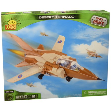 Cobi 2325 Small Army Torndao in the Desert Camouflage, 200 Pcs Building Bricks - Desert Army