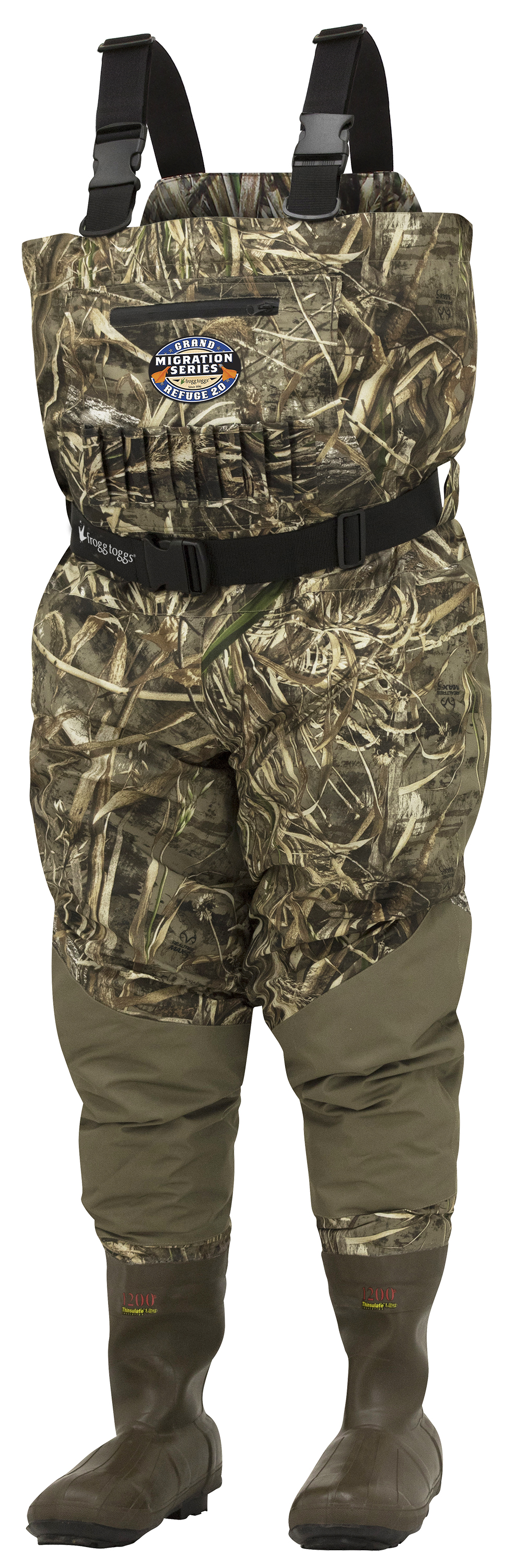 Frogg Toggs Grand Refuge 2.0 Breathable & Insulated Chest Wader by Frogg Toggs