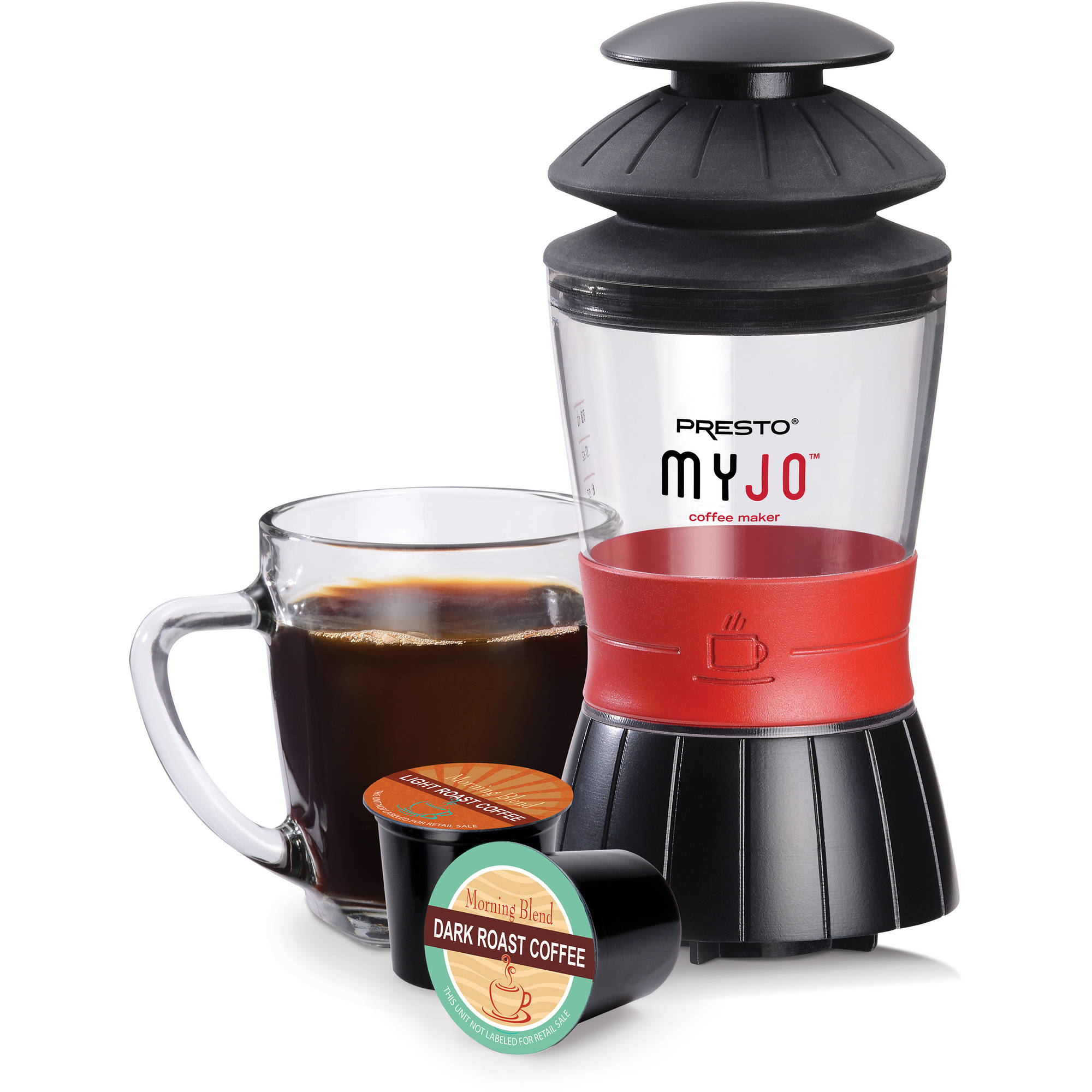 Presto Myjo Single Cup Coffee Maker 02835 Walmartcom