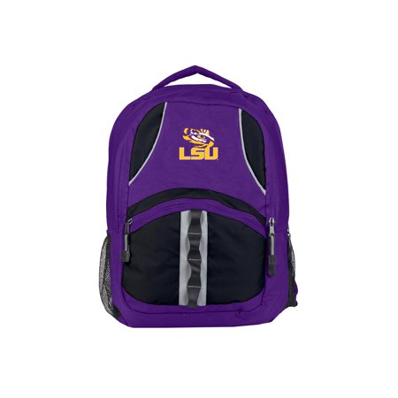 """- NCAA LSU Tigers """"Captain"""" 18.5""""H x 8""""L x 13""""W Backpack"""