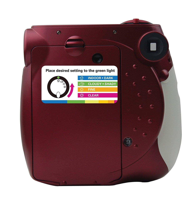 Polaroid PIC-300 Instant Film Analog Camera - (Color - Red)