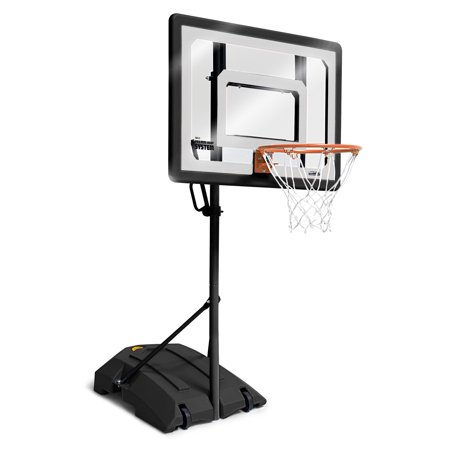 SKLZ Pro Mini Basketball Hoop System with Adjustable Height 3.5 - 7 feet and includes 7 inch Mini